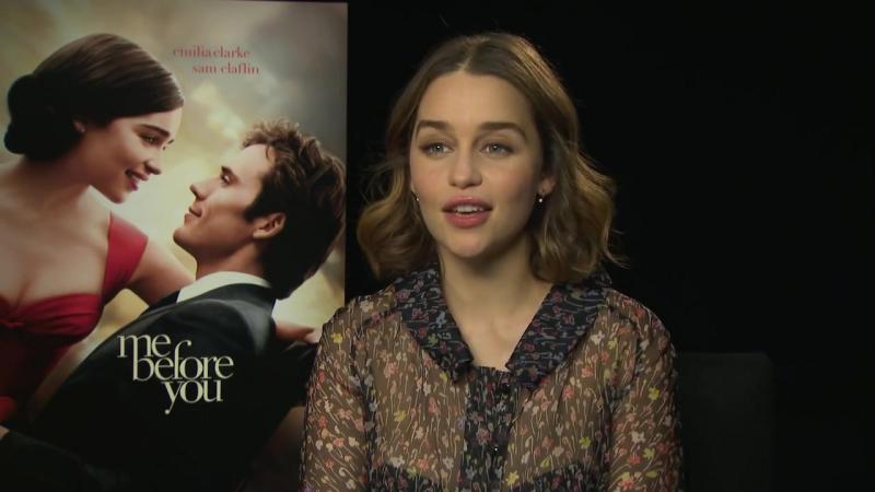 Эмилия Кларк обсудила свой новый фильм - До встречи с тобой.