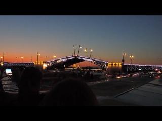 Санкт-Петербург. Развод мостов. 2015