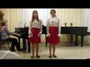 Дуэт Митруся и Полины из оперетты Холопка, муз.Стрельникова. Исп.Соня Огаркова и Марта Казарян