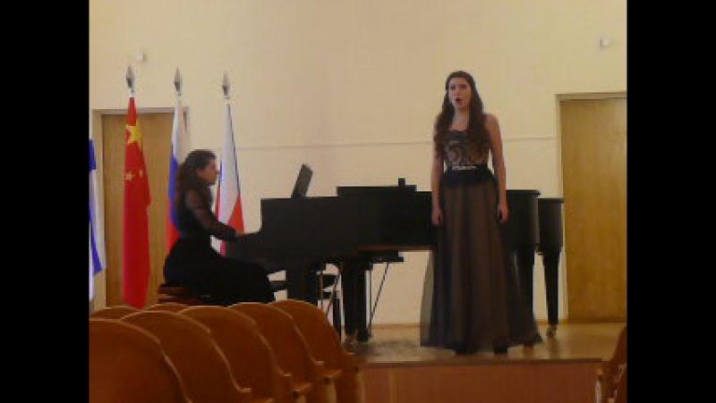 Вивальди. Ария из оперы