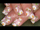 DIY Easy White Daisy Nails | Simple Spring Nail Art Design Tutorial