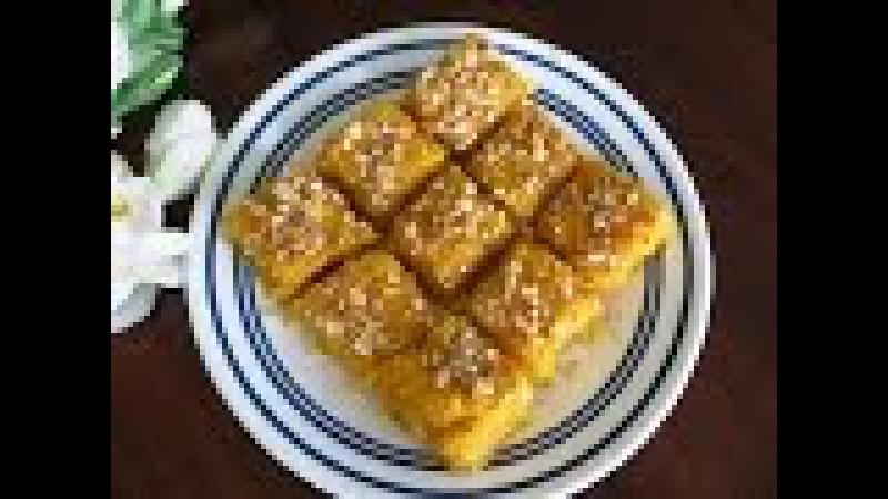 Quick and Easy Mango Coconut Burfi (10 minute recipe)   Poonam's Kitchen