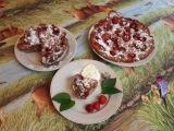 Летний ягодный пирог с клубникой. Самый простой и быстрый рецепт.