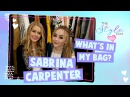 The Style Edit | Sabrina Carpenter: What's In My Bag? | Disney Channel