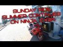Sunday ride, summer continues on Ninja ZX9R