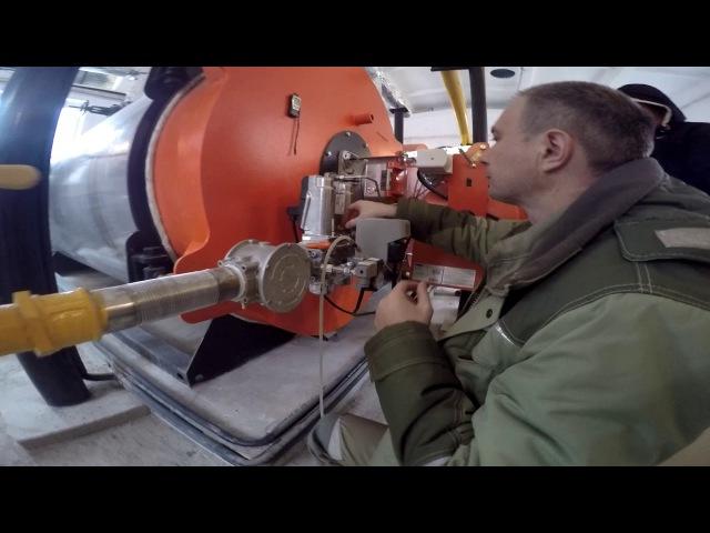 Пуско наладочные работы ПНР газовой котельной Наладка котлов и автоматики управления котельной