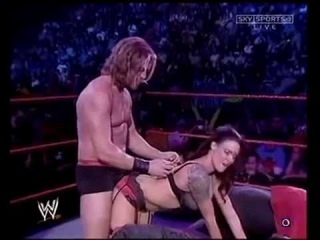 WWE RAW Edge and Lita LIVE SEX  +18