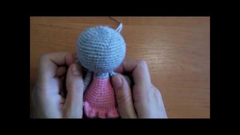Как пришить подвижные лапки (ручки) к игрушке амигуруми