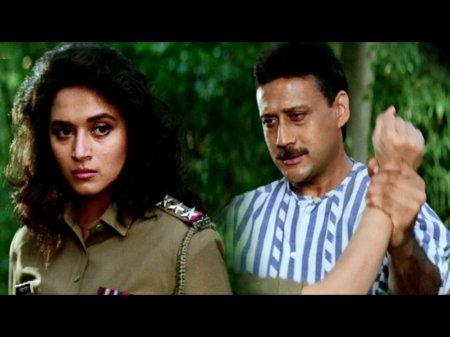 Fight between Madhuri Dixit Jackie Shroff Hindi Action Scene Prem Deewane