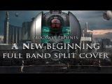 Dream Theater - A New Beginning  FULL BAND SPLIT COVER PgmX