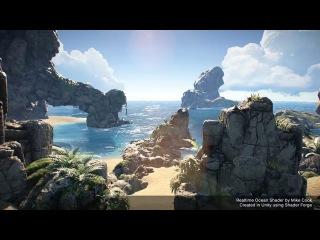 Unity 3D - Realtime Ocean Shader
