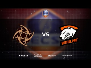 Virtus.Pro vs Ninjas in Pyjamas, map 1 cache, ECS Season 1 Europe