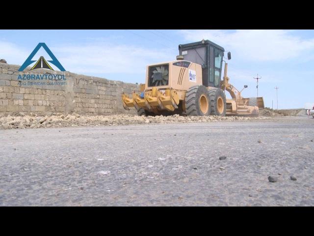 Bakı-Şamaxı avtomobil yolunun 13.3 - 15.1 km-lik hissəsi genişləndirilir