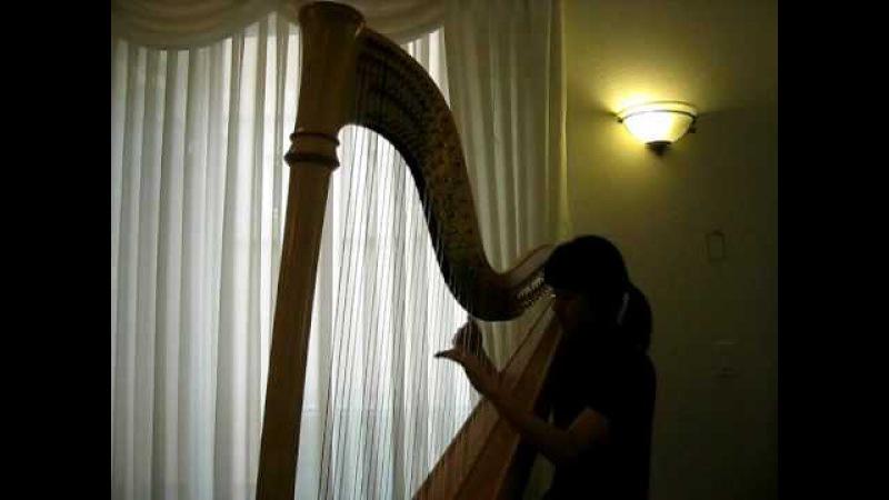 Ebb Tide by harpist, Tomoko Sato 引き潮 ハープ