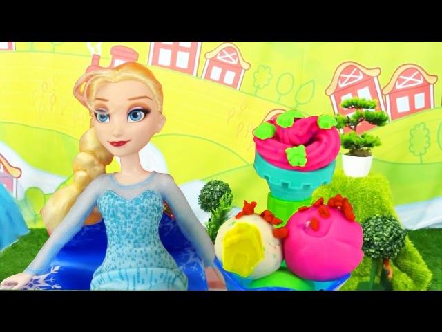 Çizgifilmoyuncakları Ceylin ve Elsa dondurma yapıyorlar.Türkçe izle! Kızçocukoyunları
