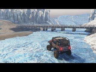 Карта «Ледник» версия final для SpinTires (v03.03.16)