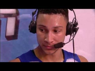 Ben Simmons' 18 Point Highlights and Post-Game Sitdown