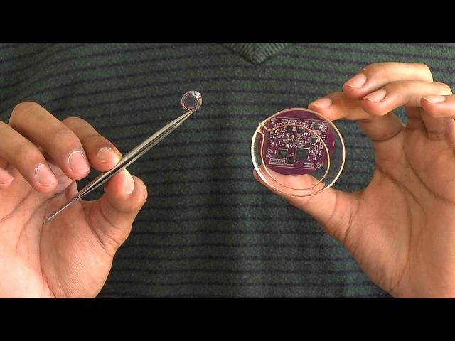 Interscatter: розумні контактні лінзи