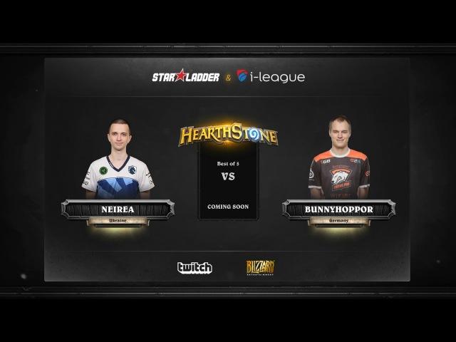 Neirea vs BunnyHoppor | SL i-League Hearthstone StarSeries Season 3 (12.05.2017)