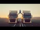 Zhan Klod Van Damm v reklame gruzovikov