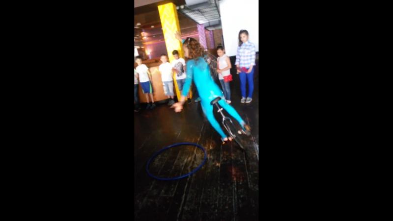 Юная звезда Софья Цирковая студия Ризиных