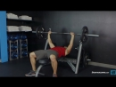 Barbell Bench Press Medium-Grip Exercise Guide