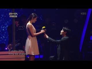 Michael K. Lee & Kim Sa Eun - I See (Navi cover) @ Immortal Song 170311