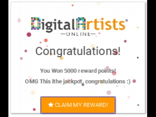 How to earn FREE Bitcoin with Digital Artists Online!