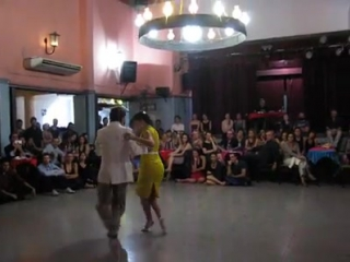 PABLO INZA y SOFIA SABORIDO en Viva La Pepa! Milonga en 19 de marzo de 2017 Bailan:
