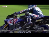 Sylvain Guintoli (Yamaha Racing)Вот это падение WSBK Imola, Italy