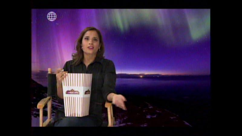 Melania Urbina en Preguntas con Cancha