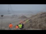 Подрыв старой морской мины времен Второй Мировой Войны