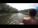 Сплав по реке Белая на самодельном плоту!