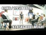 IPF Expo Meet l 814kg/1795lb Total @ 82.85kg