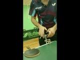 Колесо тренажер для настольного тенниса с креплением на столе