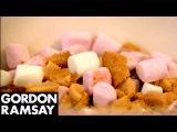 Chocolate Marshmallow & Peanut Fridge Cake   Gordon Ramsay