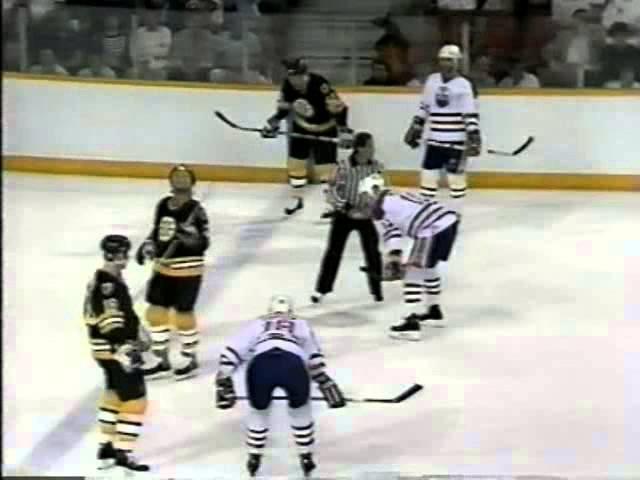 26/05/1988. Stanley Cup Finals. Boston Bruins vs Edmonton Oilers - Game 5
