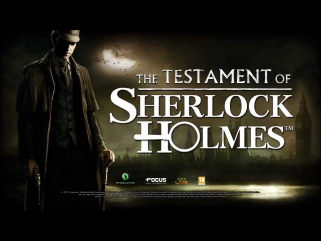 Testament of Sherlock Holmes Trailer [XBOX360/PS3/PC]