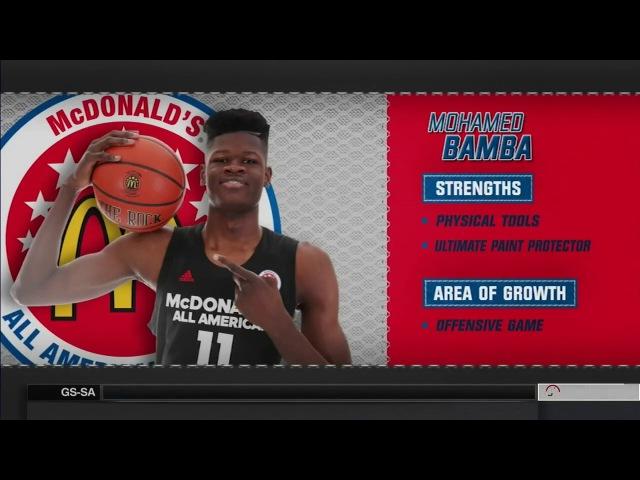 McDonald's All American Game 2017 High school basketball