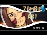 GR IC Photoshop Zombie Art (by Foxkills) Fast Motion