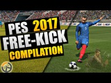 PES 2017 - Overwatch Free-Kick Compilation