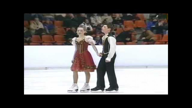 Tessa Virtue Scott Moir - Junior Worlds 2004 FD