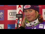 Interview with Mikaela Shiffrin Levi