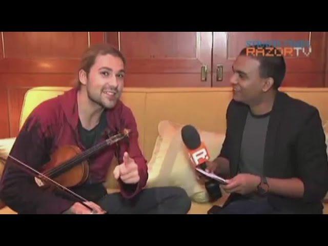 David Garrett - Razor TV (Singapore). 20.10.2011