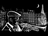 A Night in Paris: Jazz Relaxing Pianobar Music, Chill Out Songs for Romantic Nights