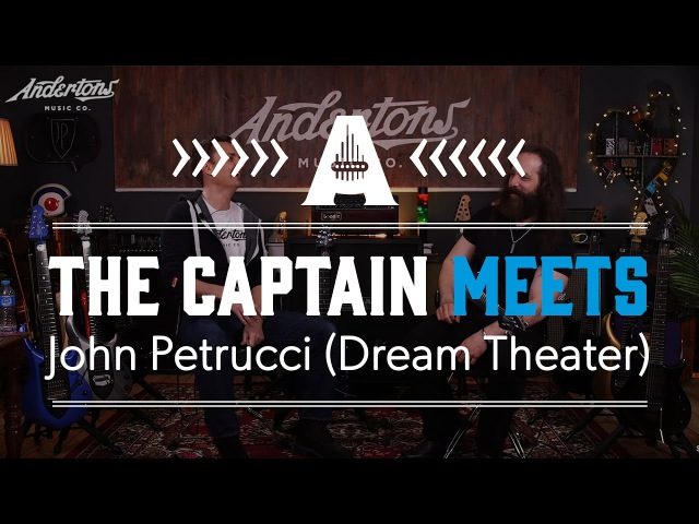 The Capt Meets The Mighty John Petrucci (Dream Theater)