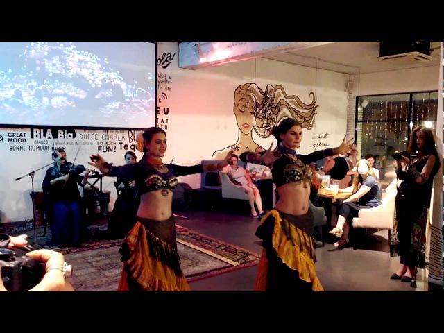 Iris Tribe на Этновечеринке в Bla bla cafe - Amel (live music)