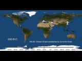 6000-летняя история урбанизации человечества за три минуты
