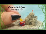 Cute, Miniature Sandcastle &amp play tools - Polymer Clay tutorial