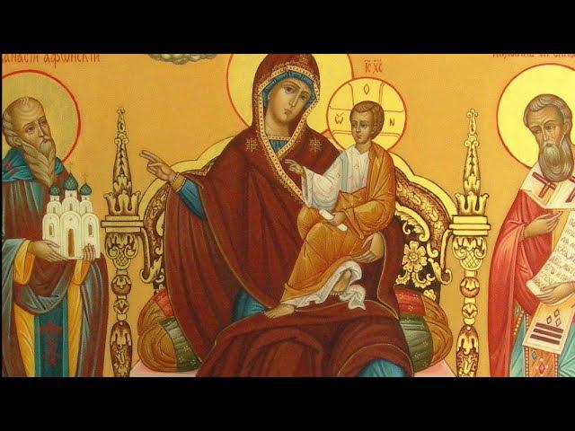 Икона Божией Матери: «Экономисса» («Домостроительница») - празднование 18 июля.
